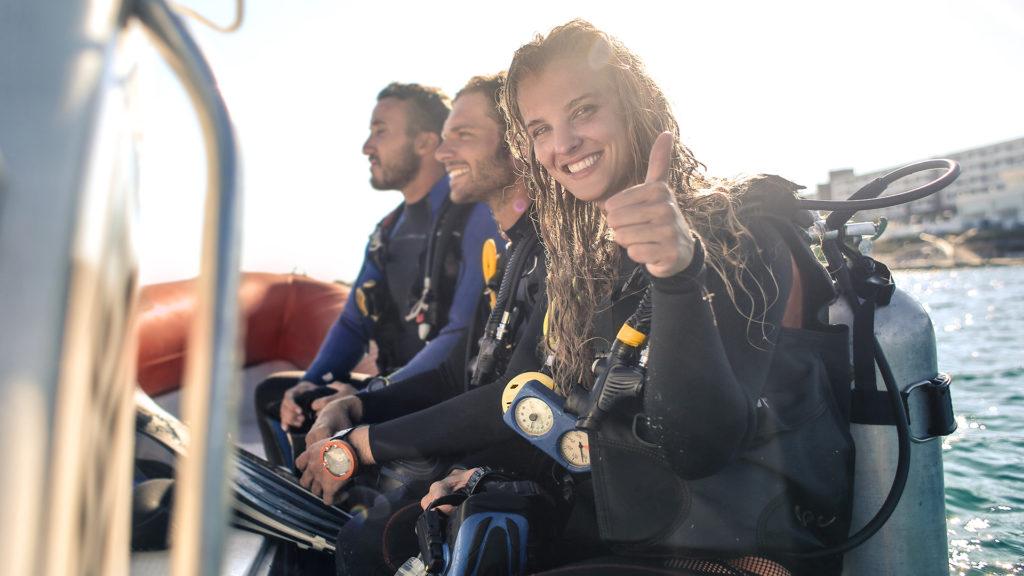 discover scuba diving with aquaventure malta