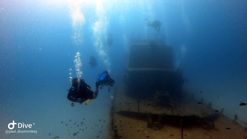 diving the p31 wreck