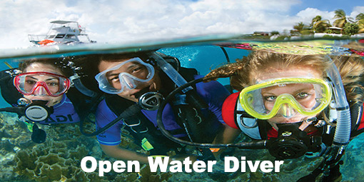 aquaventure open water diver