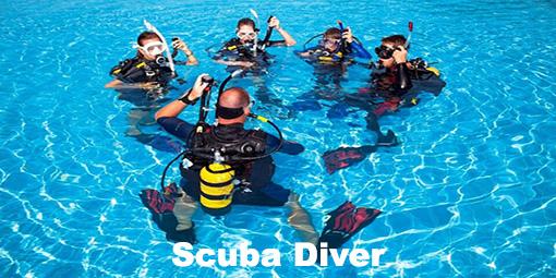 aquaventure scuba diver