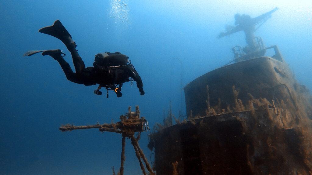 aquaventure deep diver & nitrox